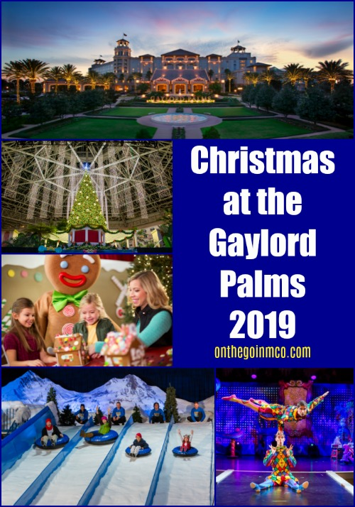 Christmas at the Gaylord Palms 2019