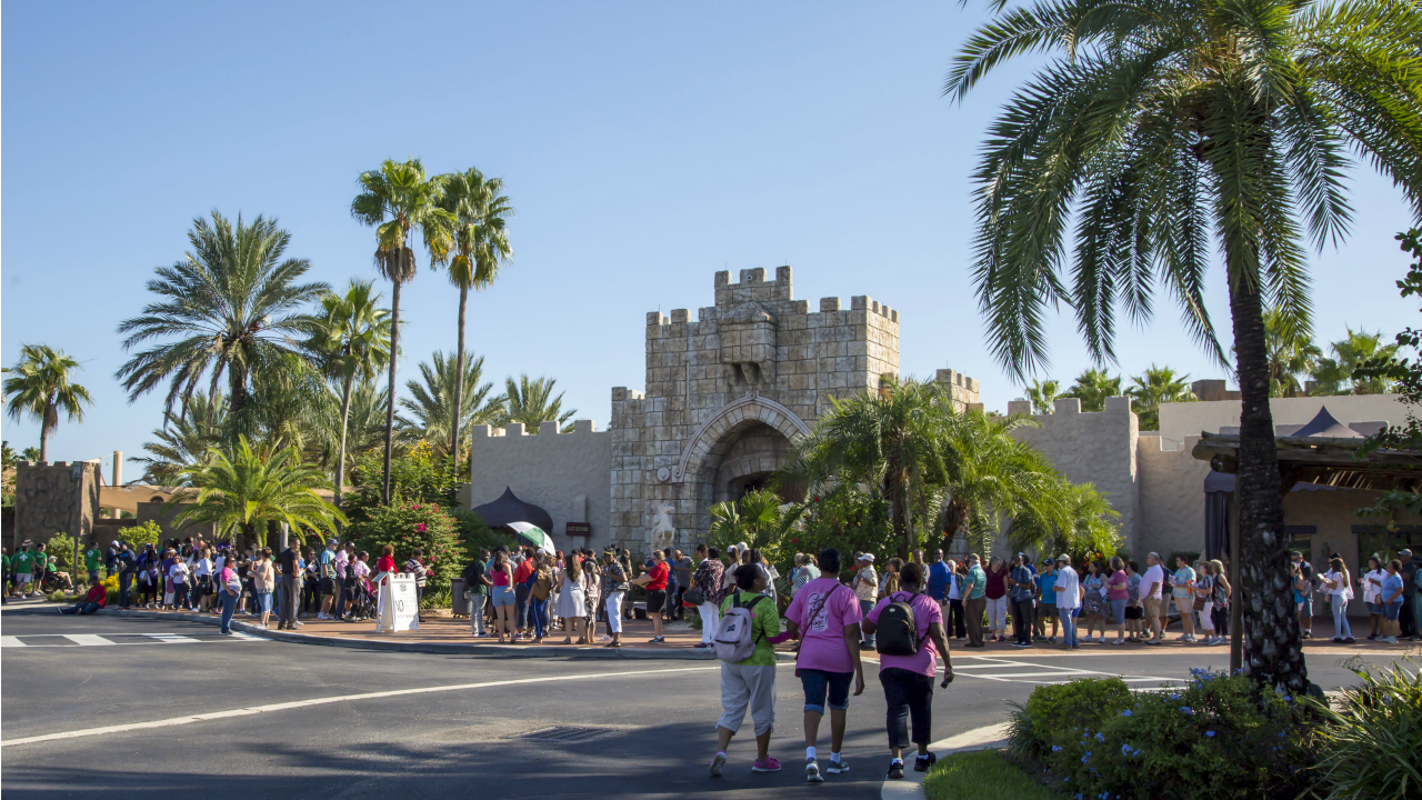 The Holy Land Experience Entrance