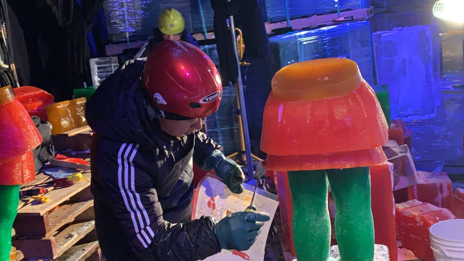 Welcoming ice artisans to Gaylord Palms 2019
