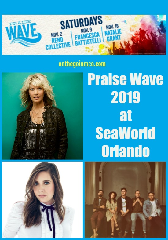 Praise Wave 2019 at SeaWorld Orlando