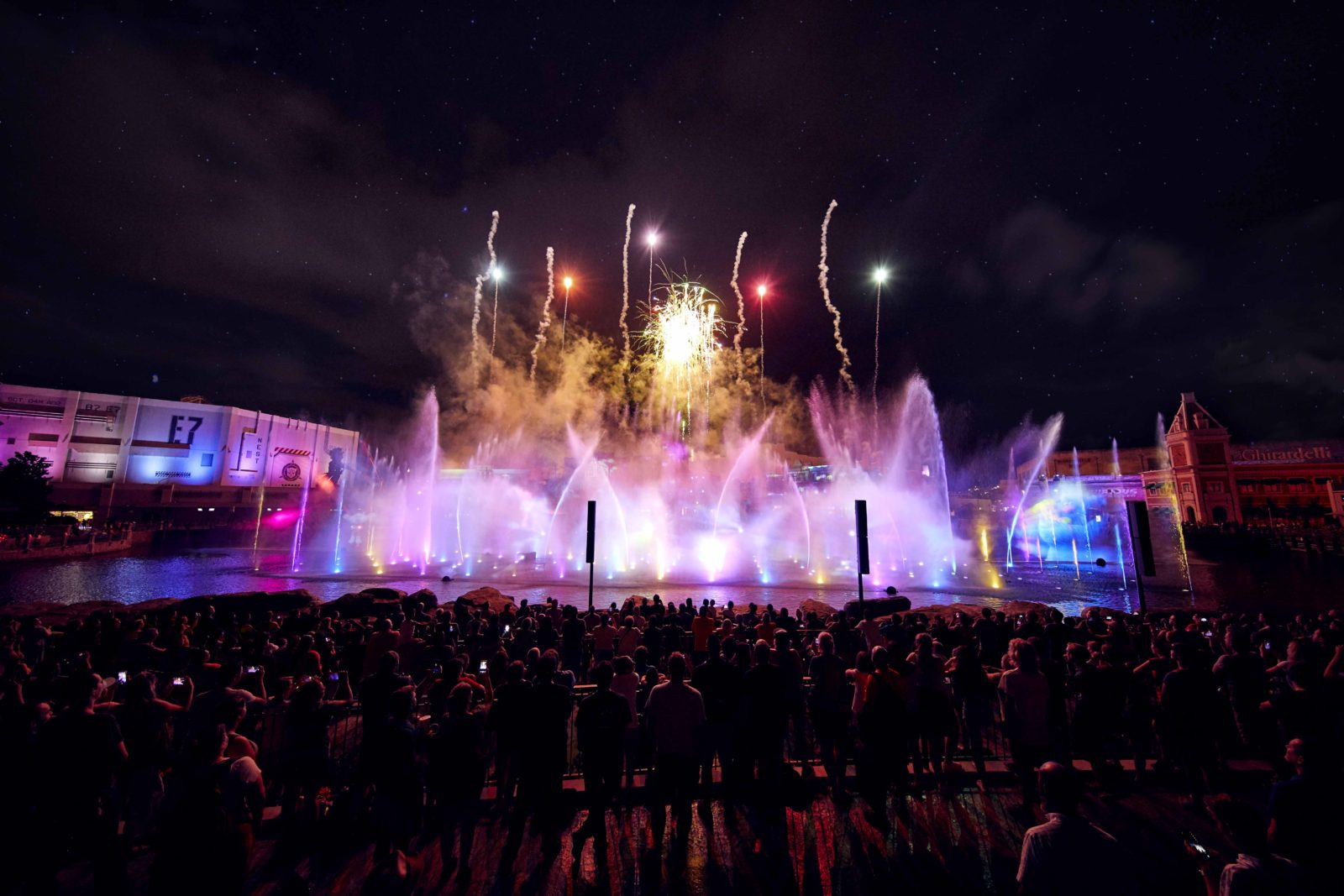 New Year's Eve at the Universal Orlando Resort