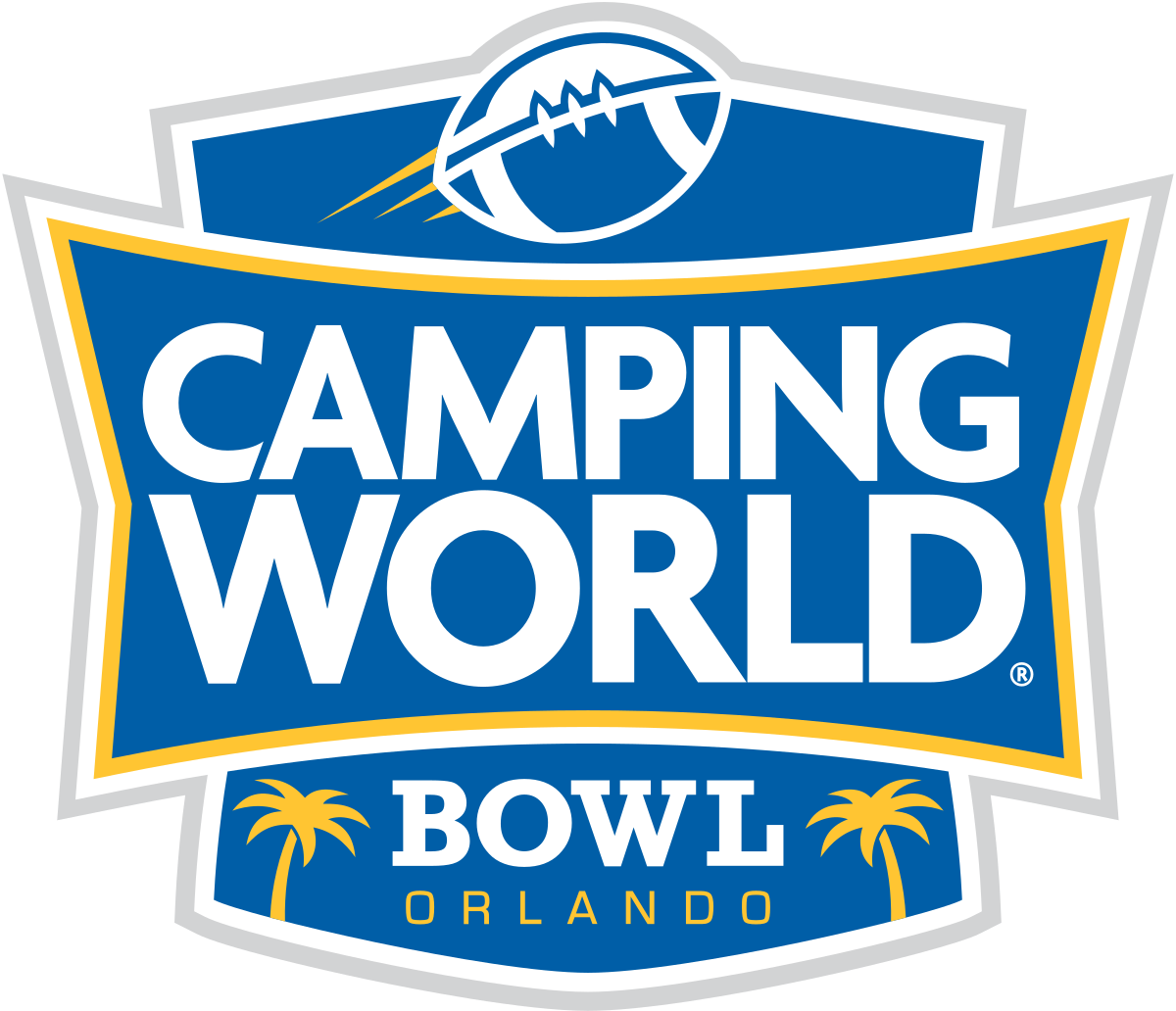 camping world bowl game logo icon park