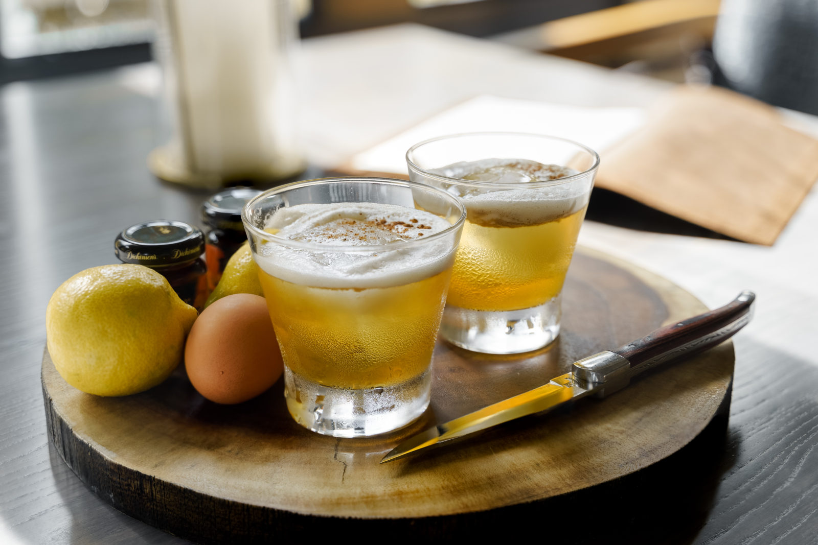 Hemingway's at Hyatt Regency Grand Cypress Maple Whiskey Sour