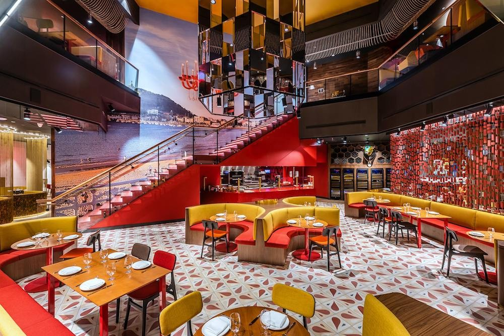 Jaleo Disney Springs Restaurant Interior