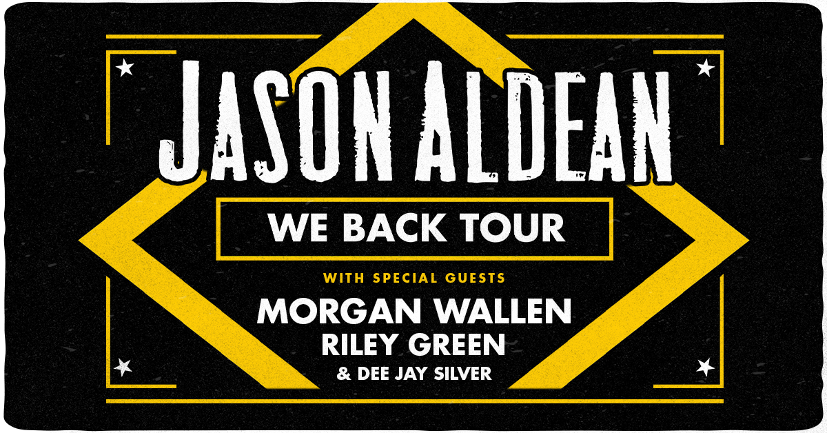 Jason Aldean We Back Tour 2020 Amway Center