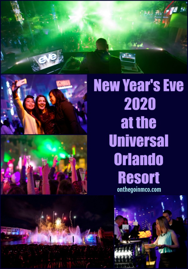 New Year's Eve 2020 Universal Orlando Resort