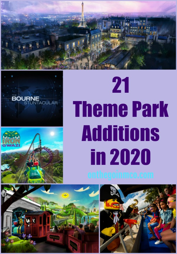 21 Theme Park Additions in 2020
