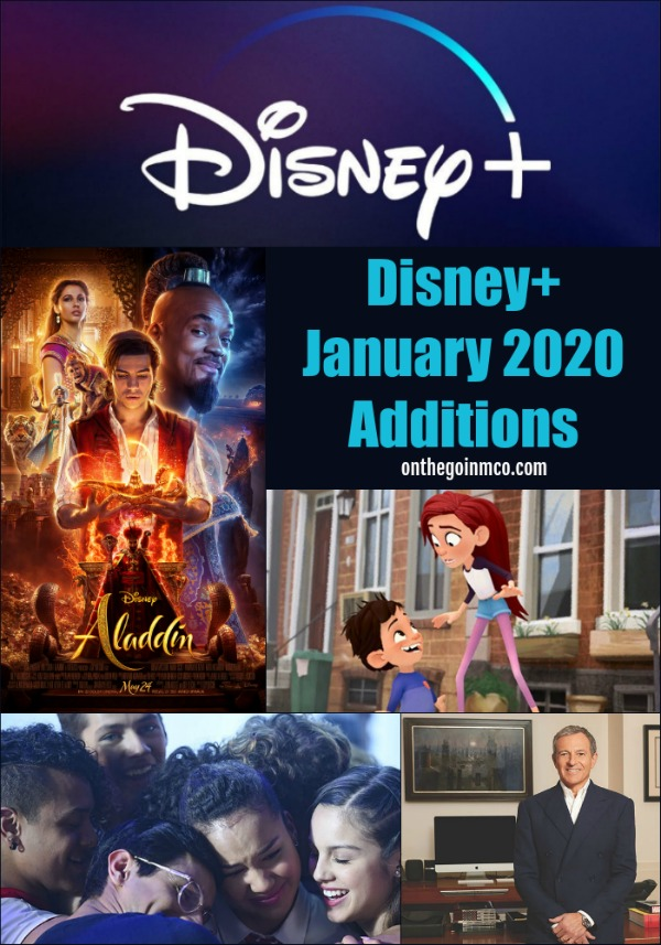 Disney+ January 2020 Additions Disney Plus