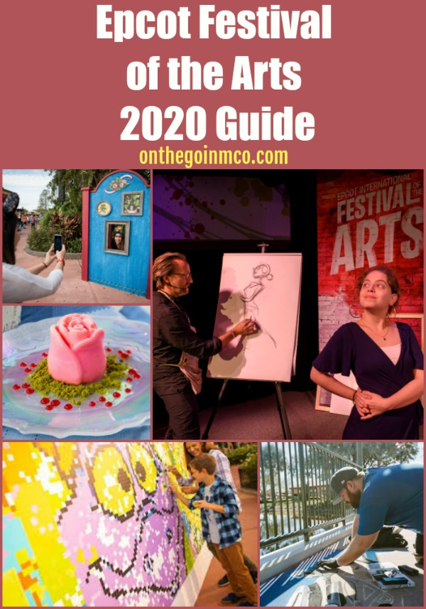 Epcot Festival of the Arts 2020 Guide