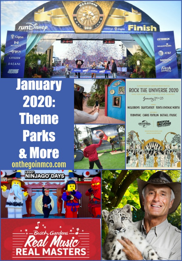 January 2020 Theme Park Events and More