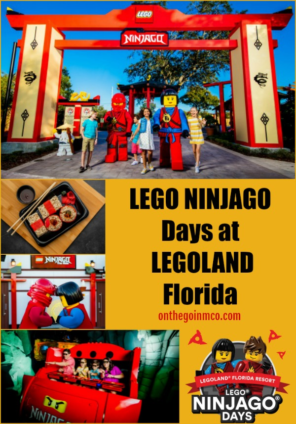 LEGO NINJAGO Days at LEGOLAND Florida 2020 On the Go in the Parks
