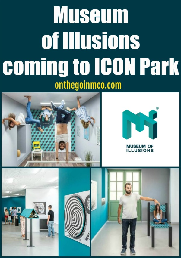Museum of Illusions ICON Park International Drive New in 2020