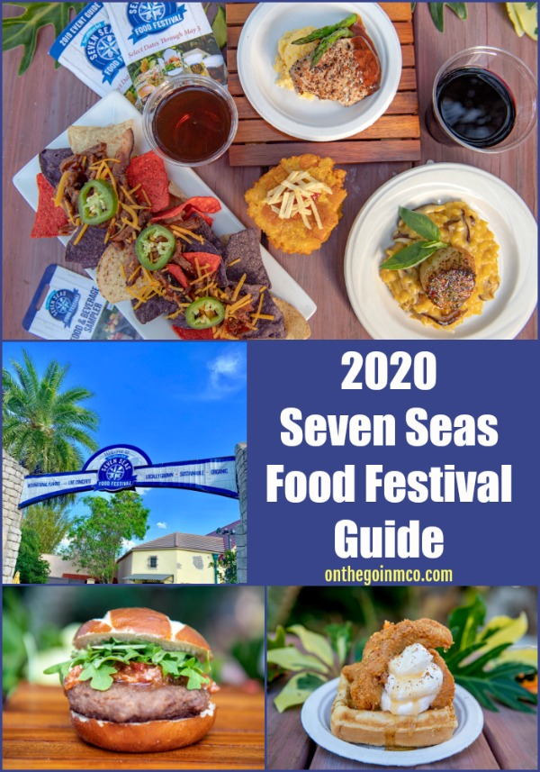 2020 Seven Seas Food Festival Guide SeaWorld Orlando