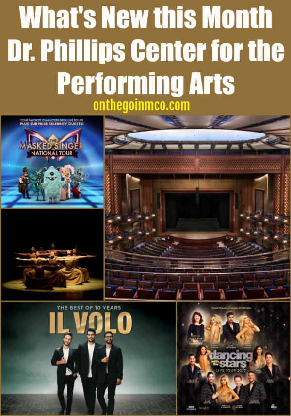 Dr. Phillips Center for the Performing Arts February 2020