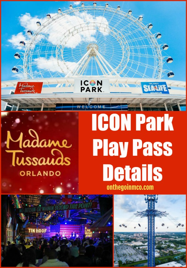 ICON Park Play Pass