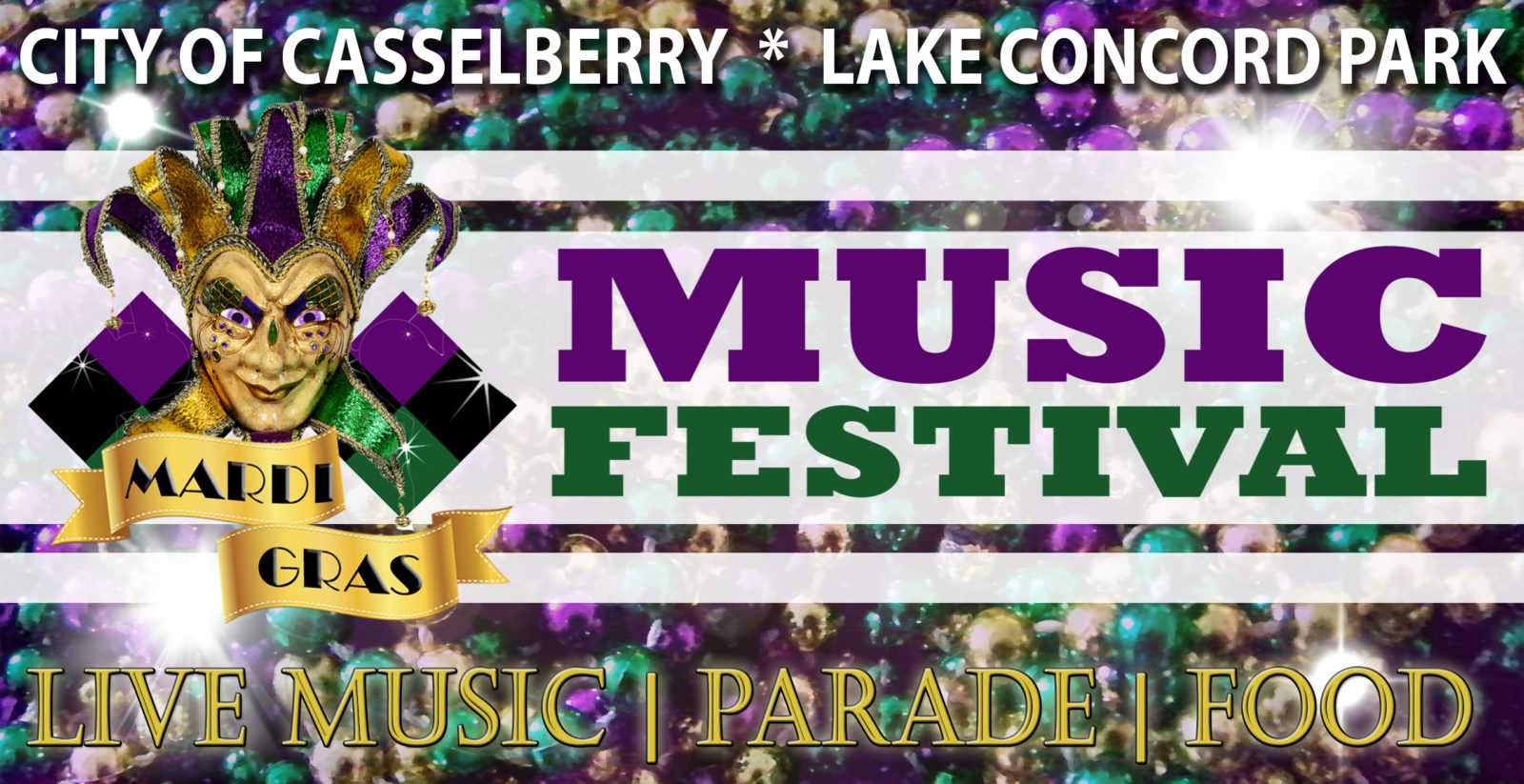 On the Go in Orlando - feb 21 2020 - Casselberry Mardi Gras Music Festival