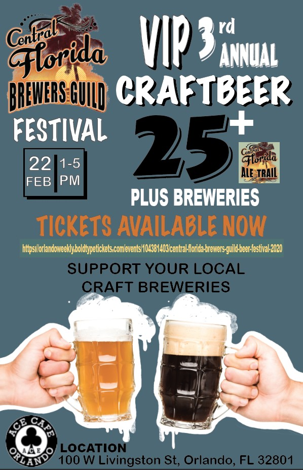 On the Go in Orlando - feb 21 2020 - Central Florida Brewers Guild