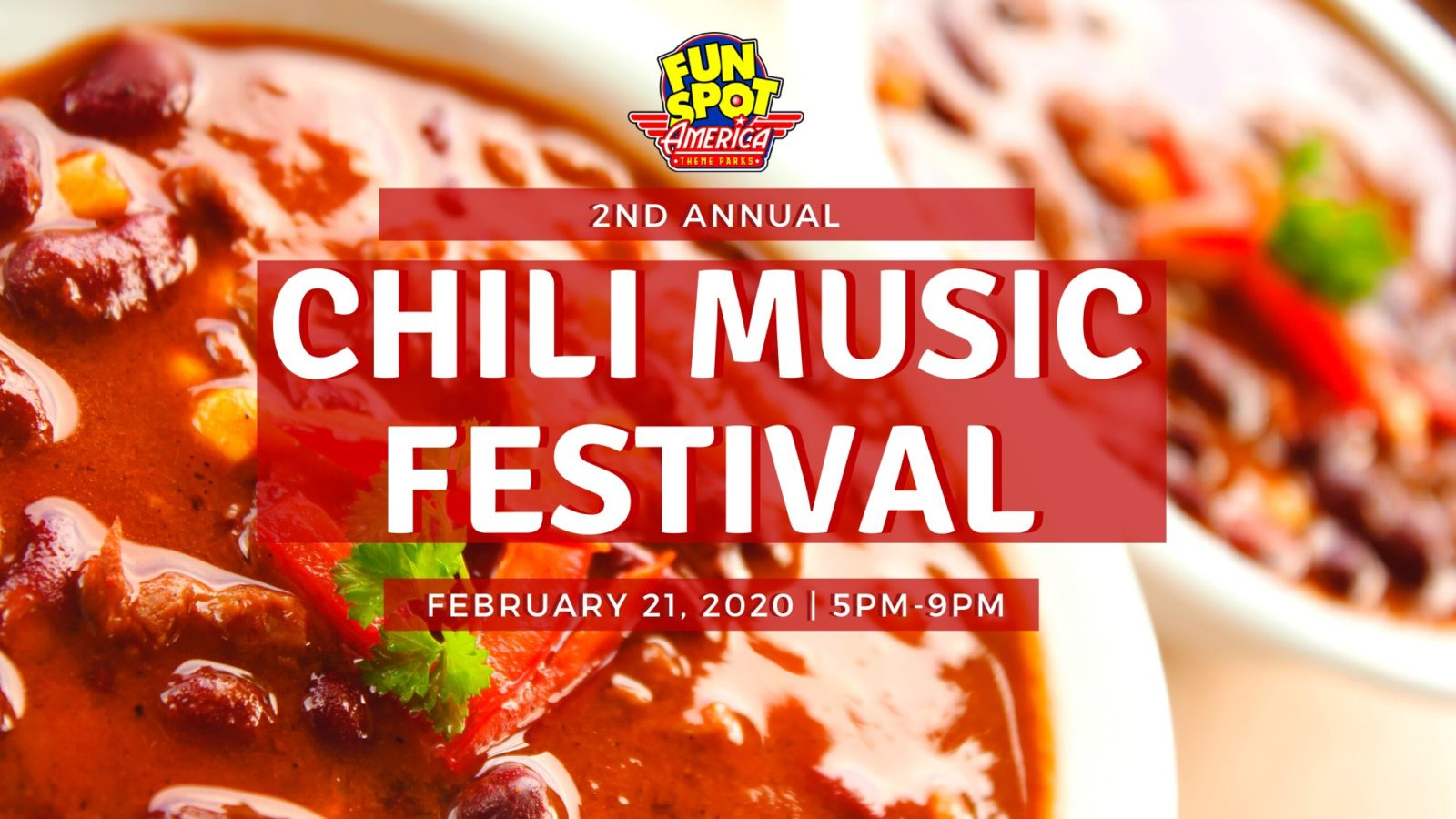 On the Go in Orlando - feb 21 2020 - Fun Spot America Chili Music Festival