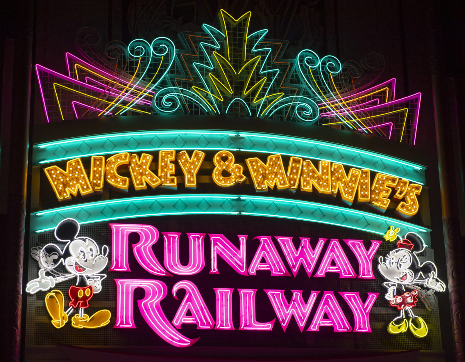 Mickey & Minnie's Runaway Railway Disney's Hollywood Studios Walt Disney World