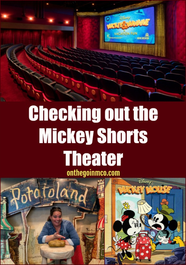 Mickey Shorts Theater Disney's Hollywood Studios