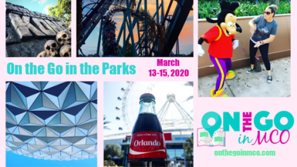 On the Go in the Parks March 13-15