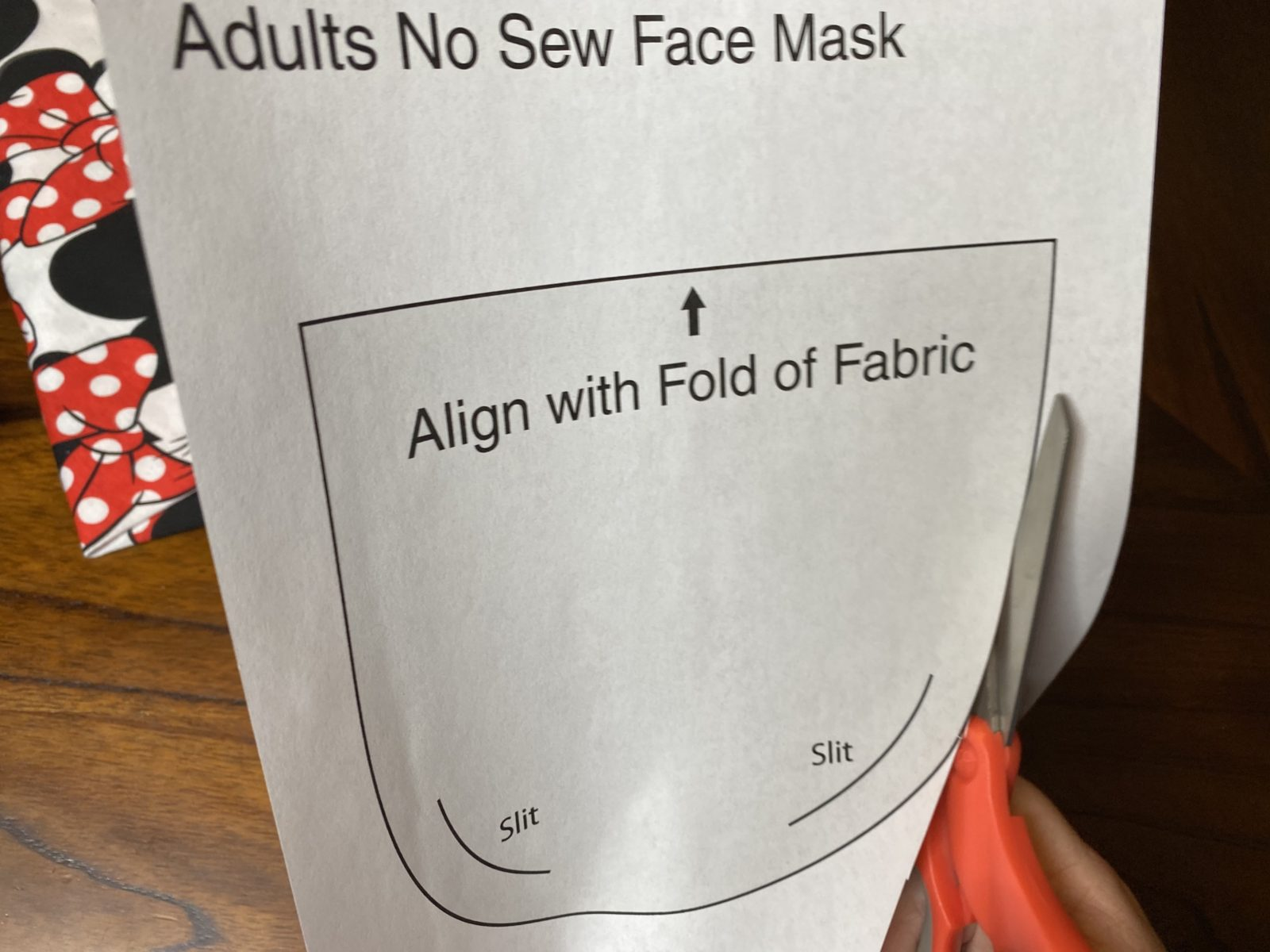 No-Sew T-Shirt Mask DIY