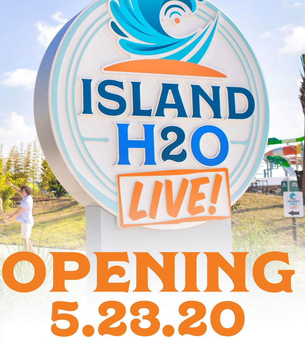 Island H20 Live reopening On the GO in the Parks