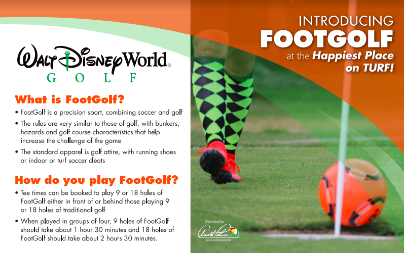 Walt Disney World Golf FootGolf