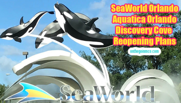 SeaWorld Orlando Reopening Plan