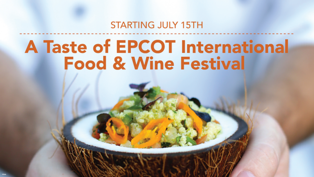 A Taste of Epcot International Food and Wine Festival 2020 Walt Disney World