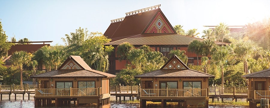 Walt Disney World Resort Disney Vacation Club Polynesian Village and Bungalows