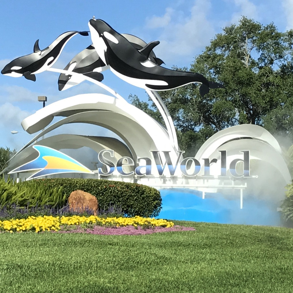 SeaWorld Orlando Sign On the Go in the Parks January 2021