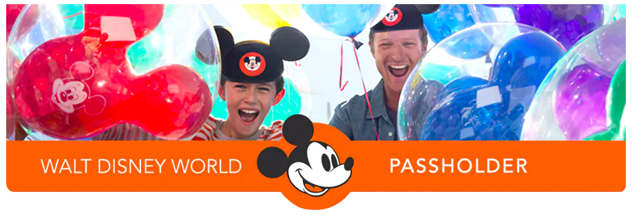 Walt Disney World Annual Passholder Header