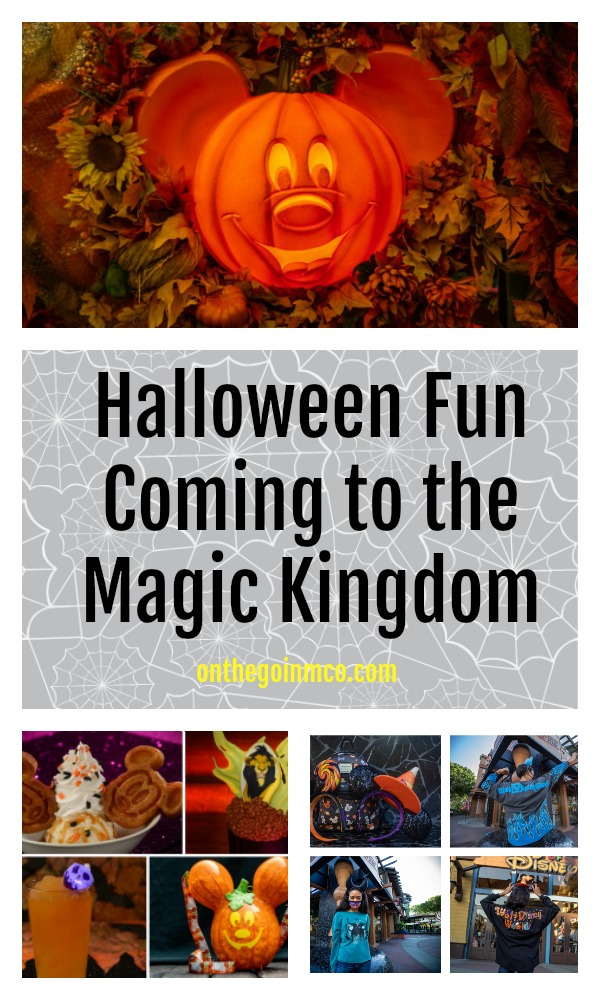 Halloween Fun Coming to the Magic Kingdom