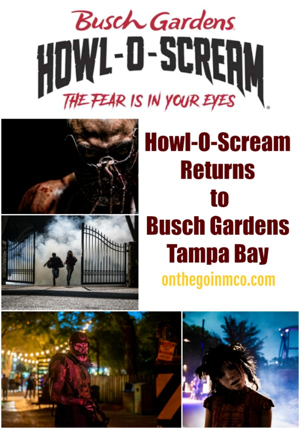 Howl-O-Scream Returns to Busch Gardens Tampa