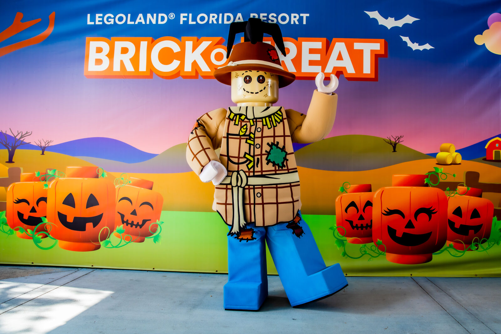 LEGOLAND Florida Brick or Treat Halloween 2020 on the go in the parks