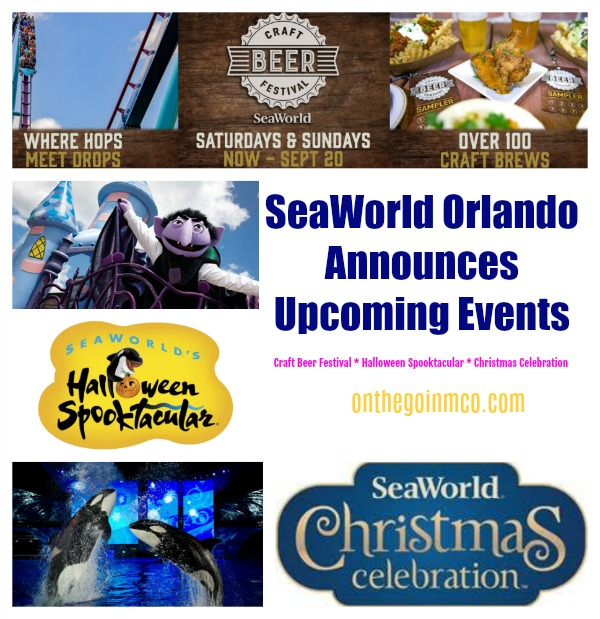 SeaWorld Orlando Announces Upcoming Events