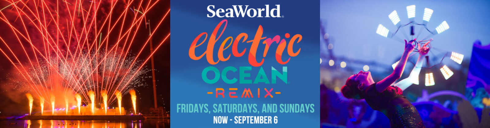SeaWorld Orlando Summer Electric Ocean Remix