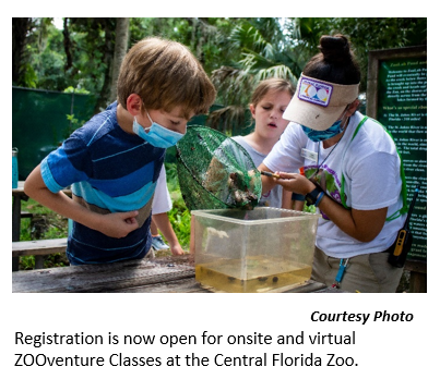 Central Florida Zoo ZooVenture Educational Program 2020