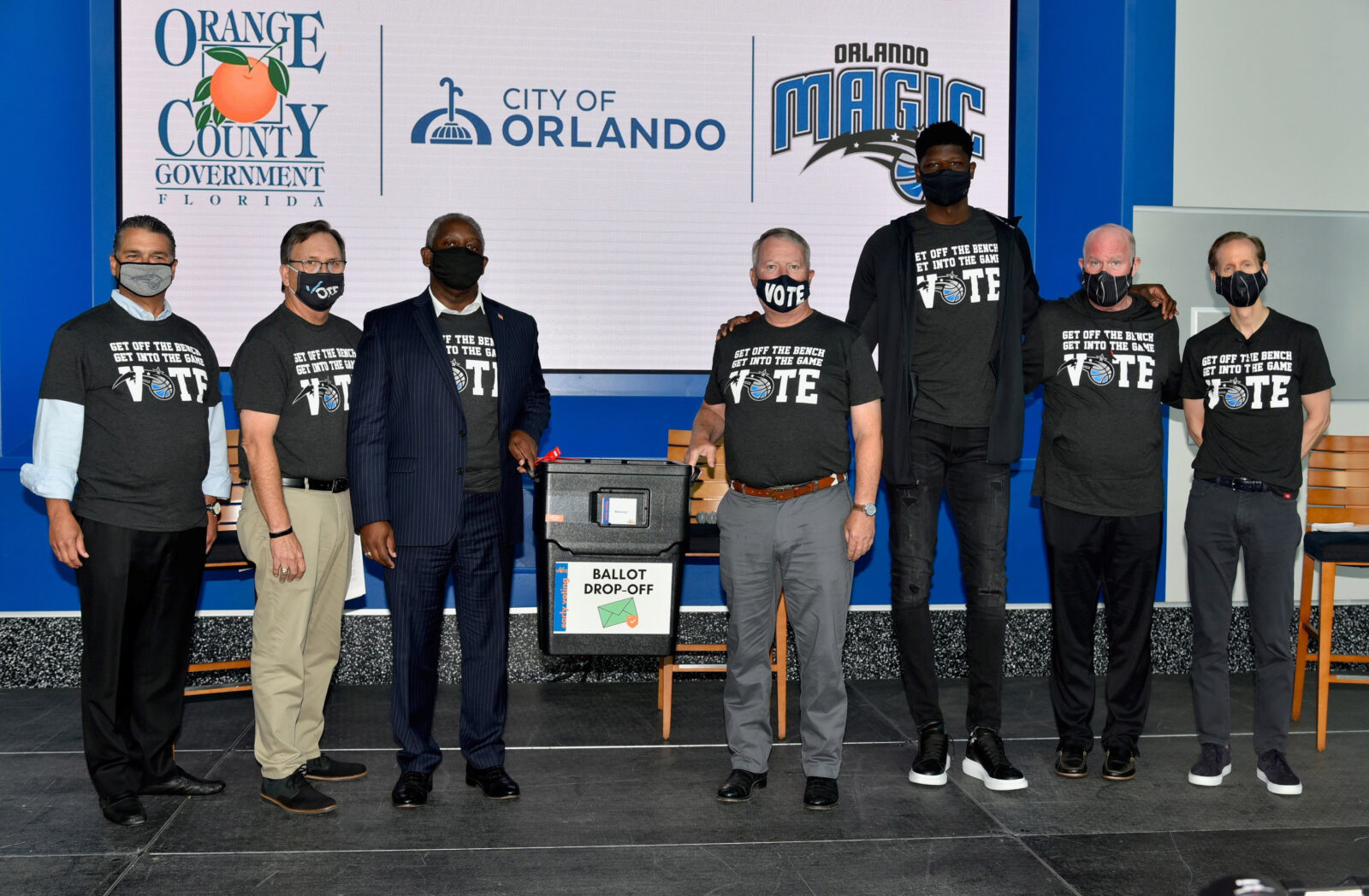 Amway Center Early Voting Center 2020