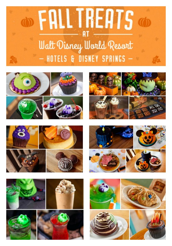 Disney Resort and Disney Springs Fall Treat Guide
