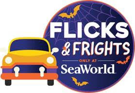 Flicks and Frights SeaWorld Orlando Halloween 2020 on the go in the parks