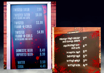 Universal Orlando Resort Halloween 2020 Food Truck Menus