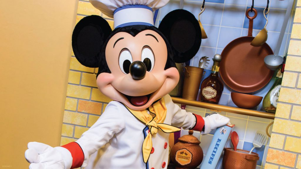 Chef Mickey's Breakfast December 16