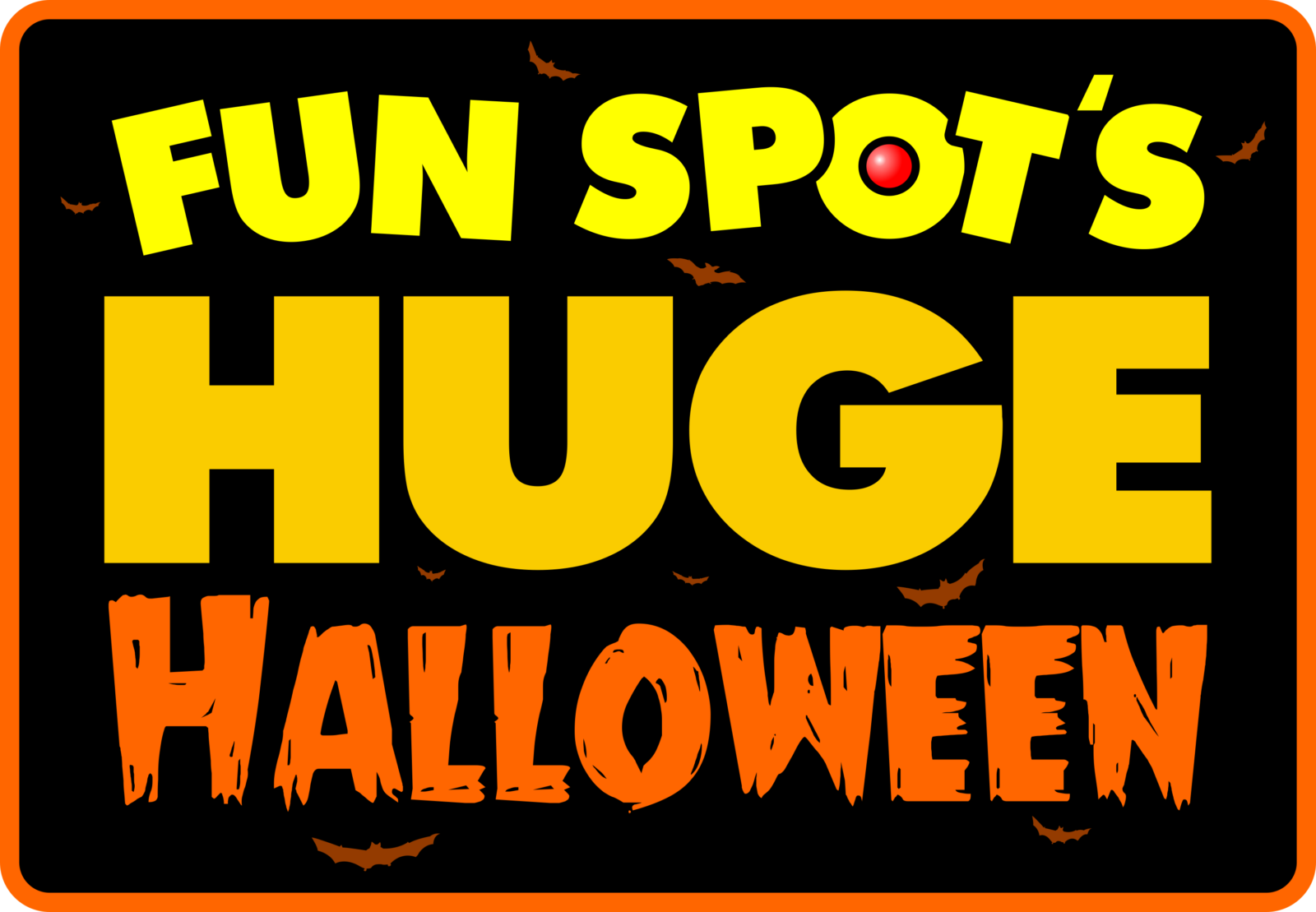 Fun Spot America Huge Halloween On the Go in the Parks