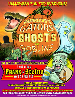 Gators Ghosts Goblins 2020 Gatorland Orlando
