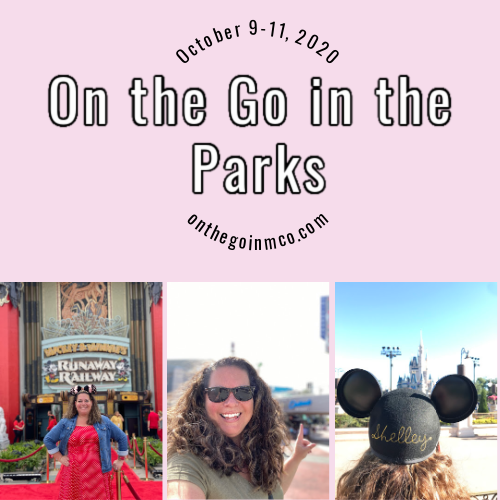 On the Go In the Parks October 9 to 11 2020