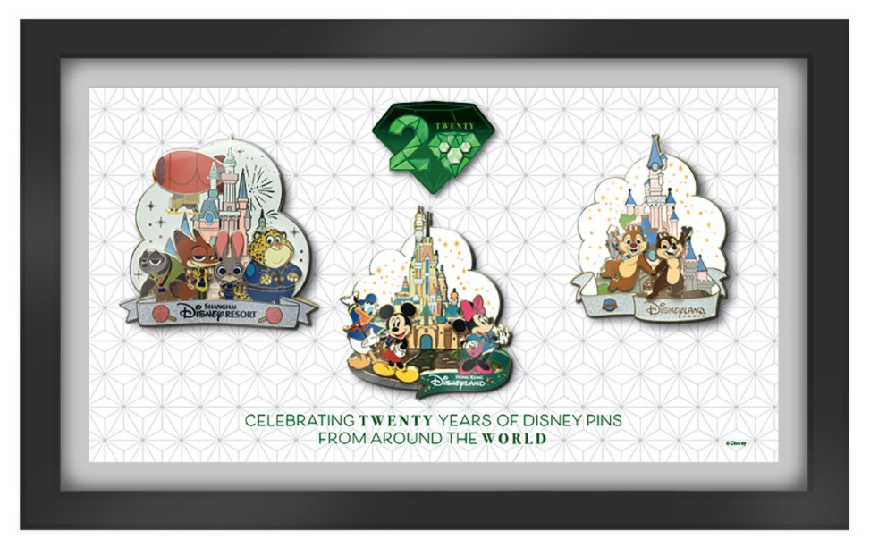 Walt Disney World  Celebrating Twenty Years of Disney Pins Virtual Event