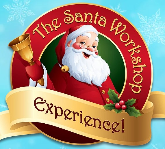 ICON Park Holidays 2020 Santa Workshop Experience Logo