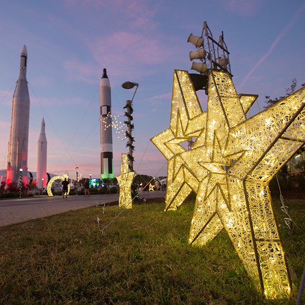 Holidays in Space Kennedy Space Center Visitor Center December 2020
